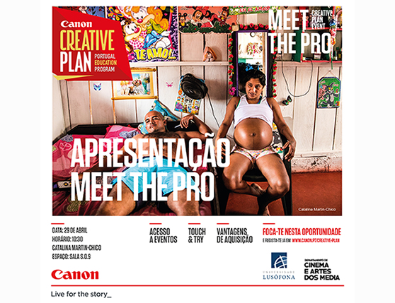 Meet the Pro - Canon 29 de Abril