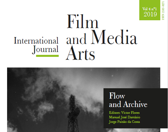 Novo número da International Journal of Film and Media Arts