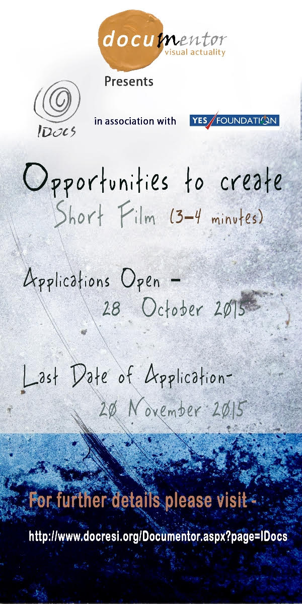 Intends to promote shorts that discuss and evoke issues affecting our  lives. Objective is to sensitise young filmmakers to stimulate greater  public debate ...